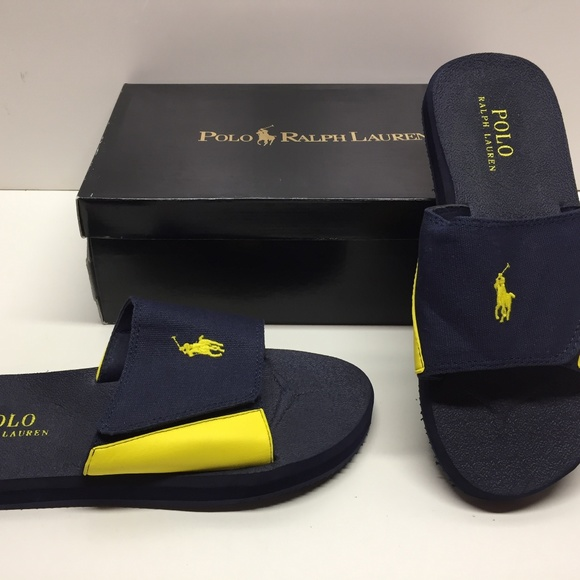 Ralph Lauren Polo Alim Slides Sandals